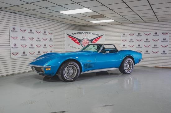 1970 Chevy Corvette Miles Show: 5,135