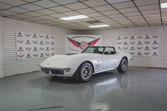 1971 Corvette Stingray Miles Show: 2,469