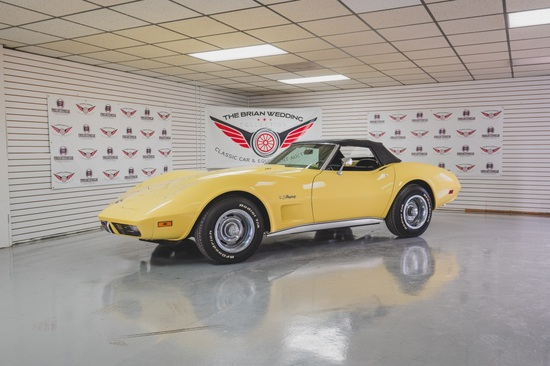 1974 Corvette Stingray Miles Show: 55,514