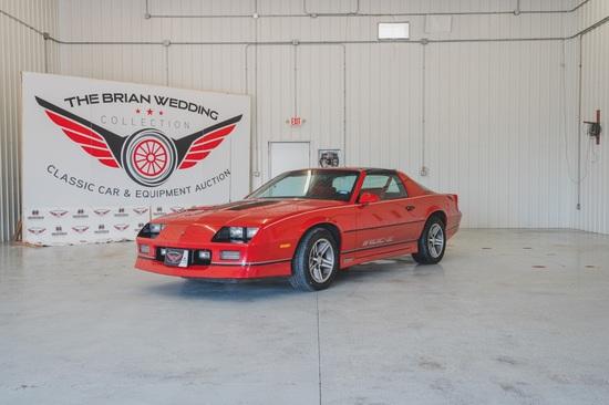 1985 Chevy Camaro Miles Show: 33,797