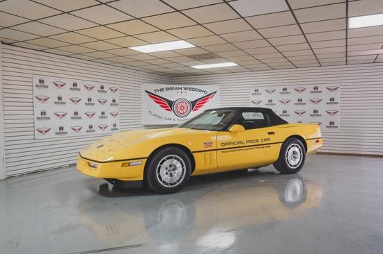 1986 Chevy Corvette Miles Show: 29,608