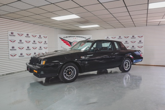 1987 Buick Regal Grand National Miles Show: 8,546