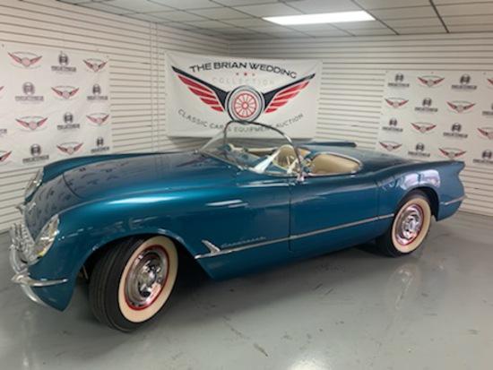 1954 Chevy Corvette Miles Show: 322
