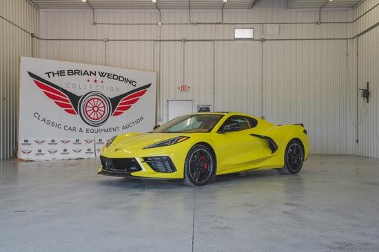 2021 Chevy Corvette 3LT Miles Show: 000,287
