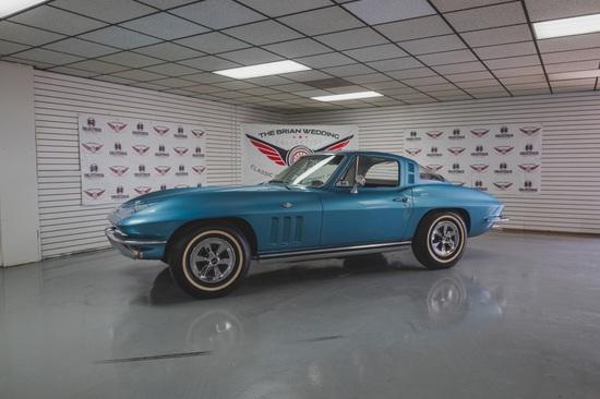 1965 Chevy Corvette Miles Show: 76,455