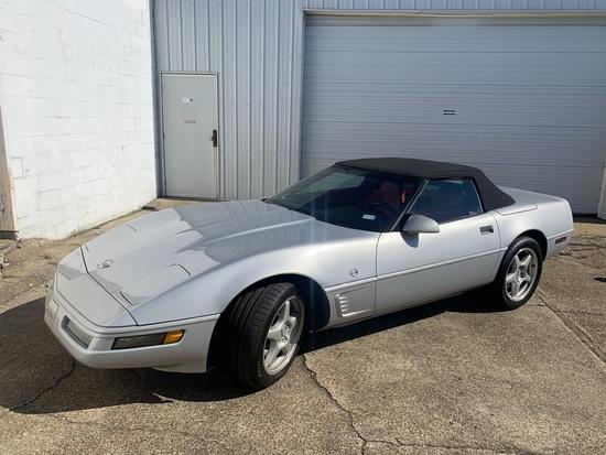 1996 Chevy Corvette Miles Show: 11,576