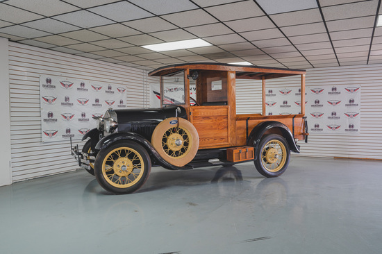 1929 Ford Model A Huckster Miles Show: 615