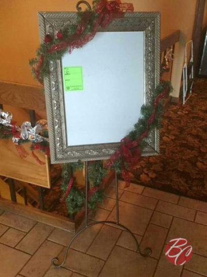 Decorative Message Board on Isle
