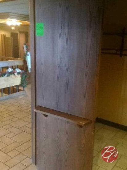 Sold Oak Split Doors