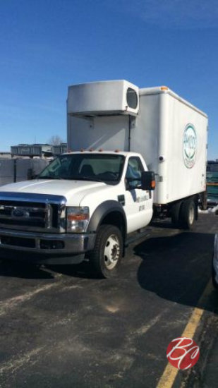2008 Ford f-550 Dually Refrigerated Box Truck