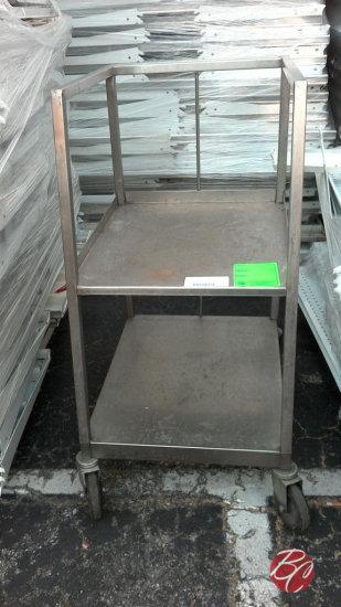Stainless Steel Sheet Pan Cart