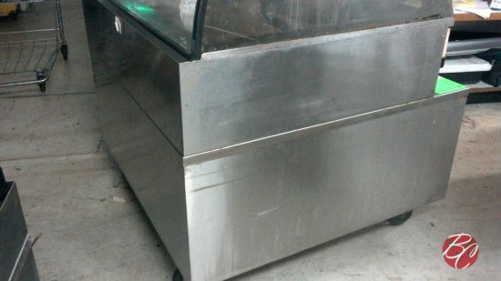 4Ft Stainless Steel Alto-Shaam Stand