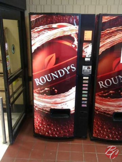 Roundys Soda Machine