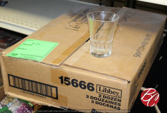 Case of Libbey #15666 Glasses