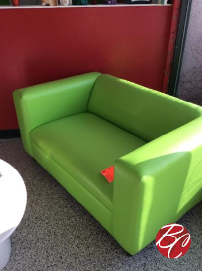 "54"" Lime Love Seat"