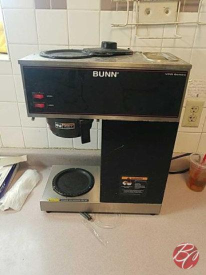 Bunn Coffee Brewer Pour Through