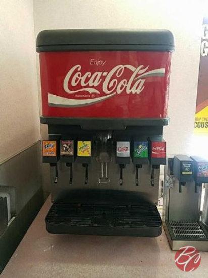 Coca-Cola 6 & 4 Head Dispensers