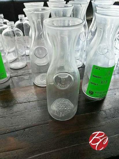 Glass Water Jar