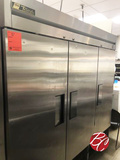 True Three Door Freezer