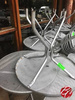Outdoor Metal Tables w/ Umbrella Holes