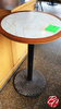 Round High Top Tables