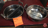 Stainless Steel Pan With Divider