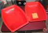 Red Plastic Tub