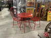 Metal Cafe Table And Chairs