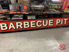 Lighted Barbecue Pit Sign