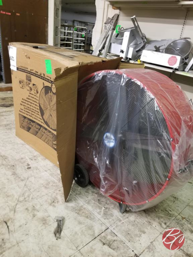"Max Air 42"" 2 Speed Belt Drive Portable Fan"