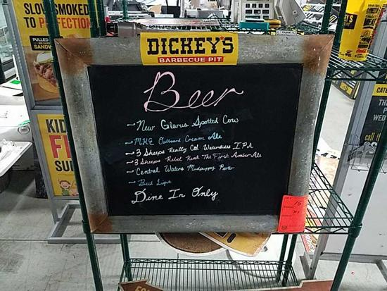 Dickey's Ole Fashion Sign