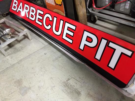 Barbecue Pit Sign