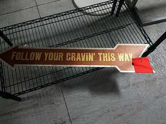 Follow Your Cravin This Way