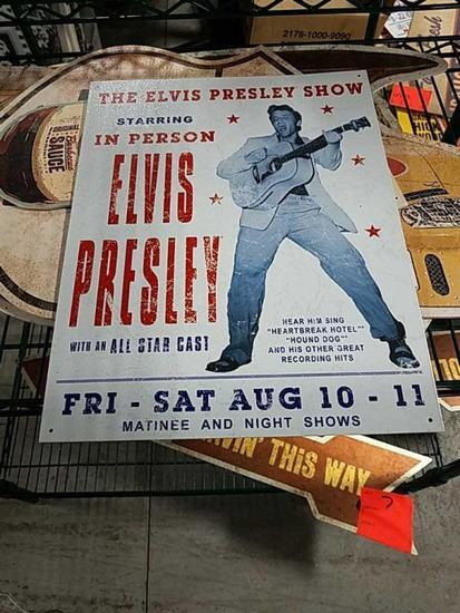 Elvis Presley Tin
