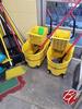 Rubbermaid Mop Buckets W/ Mops