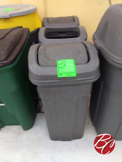 Toter Outside Trash Cans