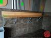 """Wood Counter W/ Brackets 96""""x20"""""""