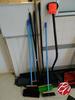 Brooms, Mops & Shovels Lot