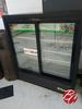 2014 True 2 Glass Slide Door Cooler M# Gdm41sl