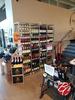 Steel Modular Glass Shelf Liquor & Wine Shelving
