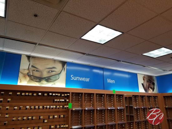 All Signage In Eye Glass Department