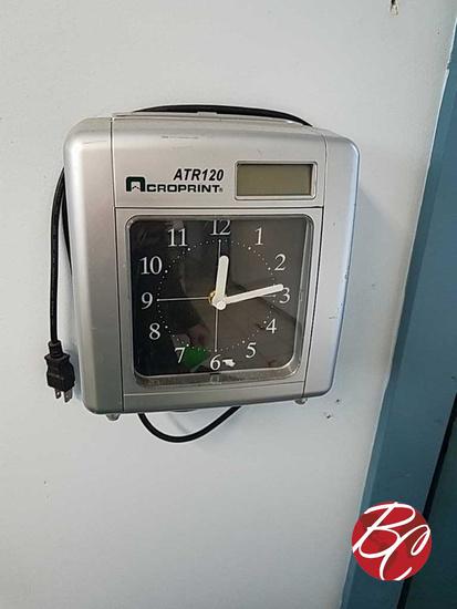Croprint Atr120 Employee Time Clock