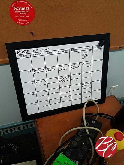 Bulleting Board & Calendar