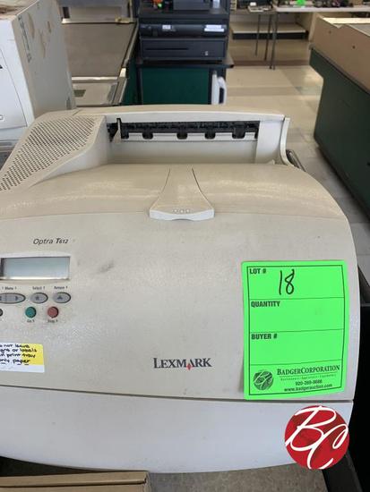 Lexmark Optra Printer Md#t612