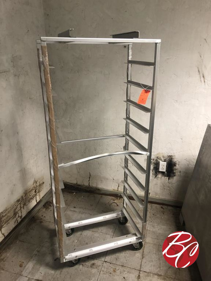 Aluminum Rolling Bakery Rack