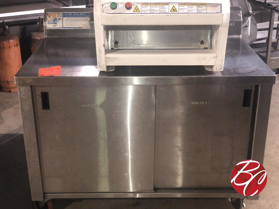 Winholt Stainless Steel Cabinet On Casters