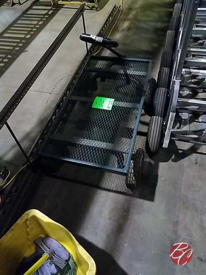 Heavy Duty Industrial Wire Wagon