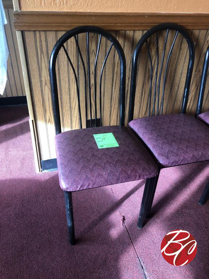 Metal Padded Chairs