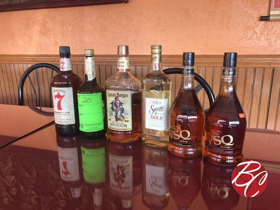 Miscellaneous Lot Of  Alcohol