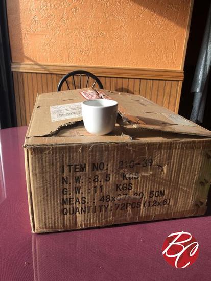 New Espresso Cups